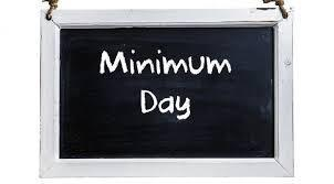 Minimum Day!/Dia Minimo