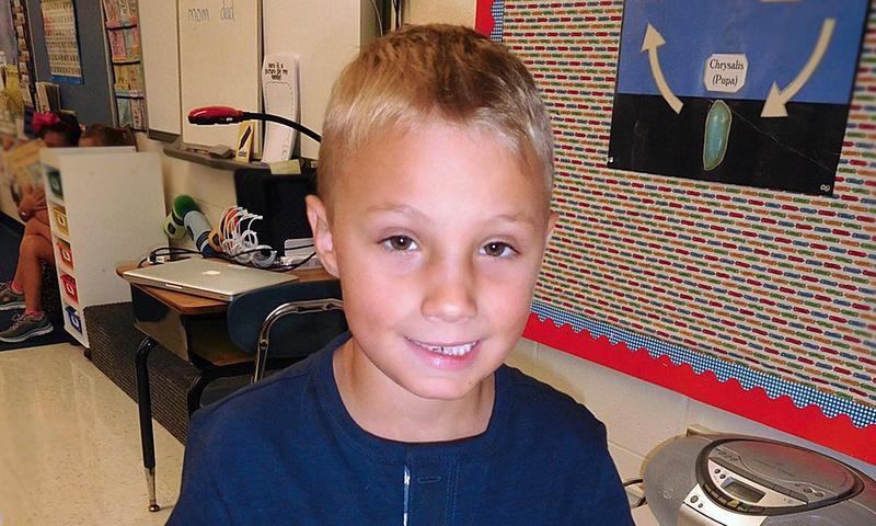 Photo of an elementary student.