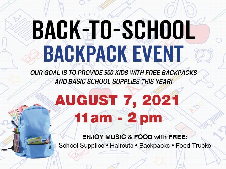 Gillman Honda San Benito Backpack Giveaway!  ¡Sorteo de mochilas en Gillman Honda San Benito!