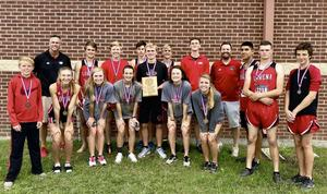 LHS Cross Country Team