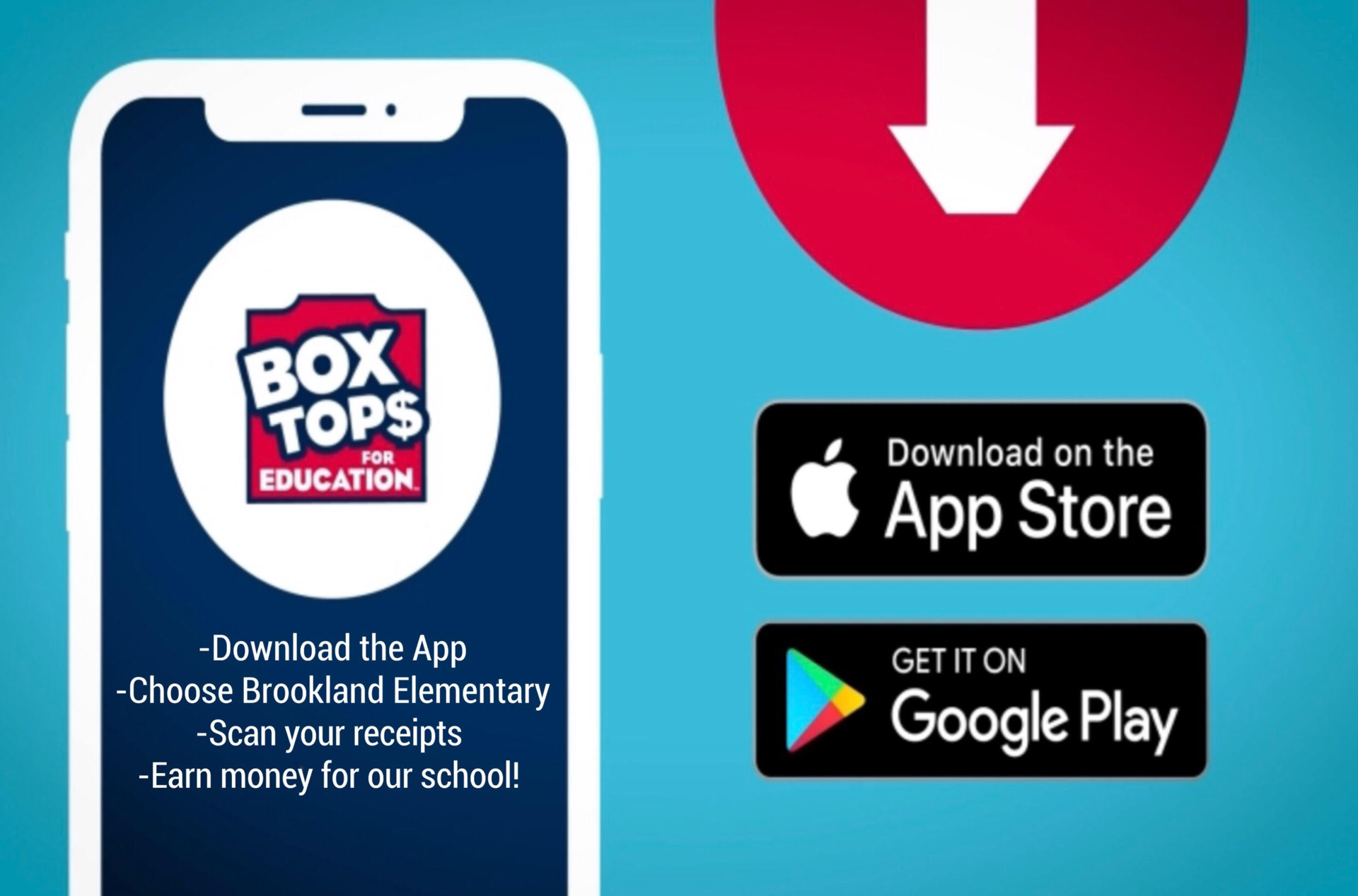 Use the Box To mobile app to raise money for our school!