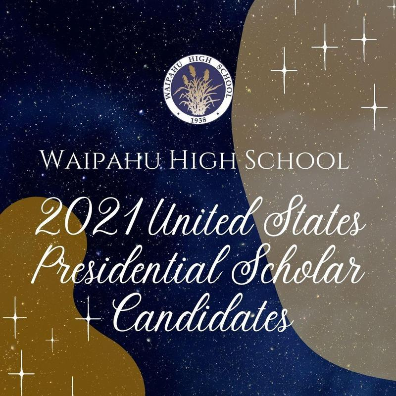 Graphic for 2021 US Presidential Scholar Candidates post