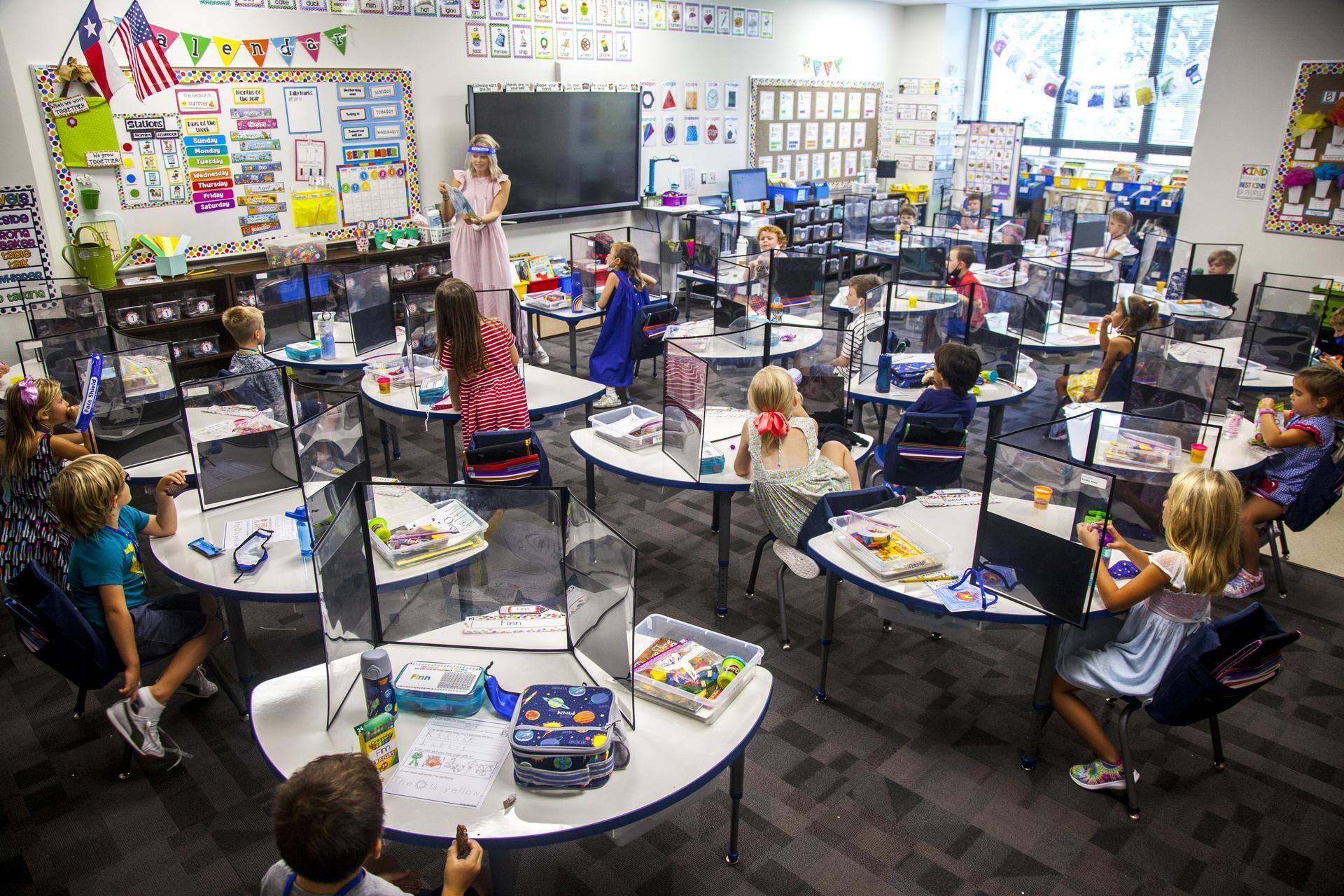 Bradfield Elementary Classroom