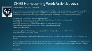 Homecoming Week 2021