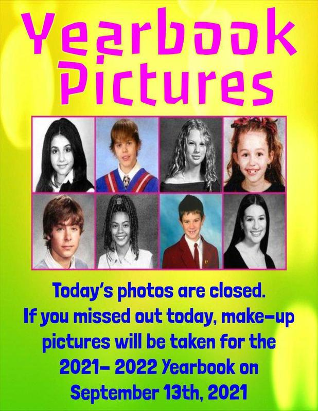 Yearbook Pictures for the 21-22 Yearbook Thumbnail Image