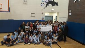 Lorca receives $5,000 from Dick's Sporting Goods!