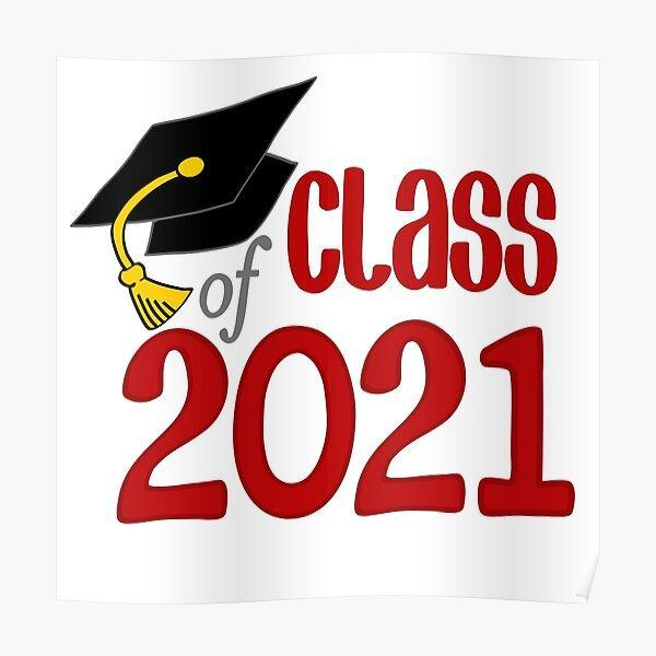 Class of 2021 with Cap