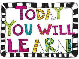 today you will learn