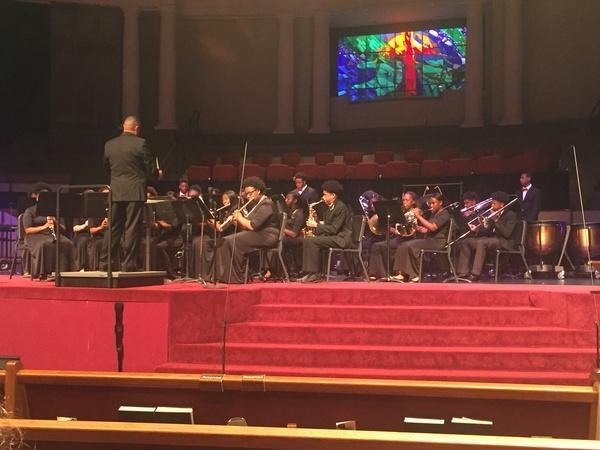 Baker High School Symphonic Band at The LA Concert Band Invitation of 2019
