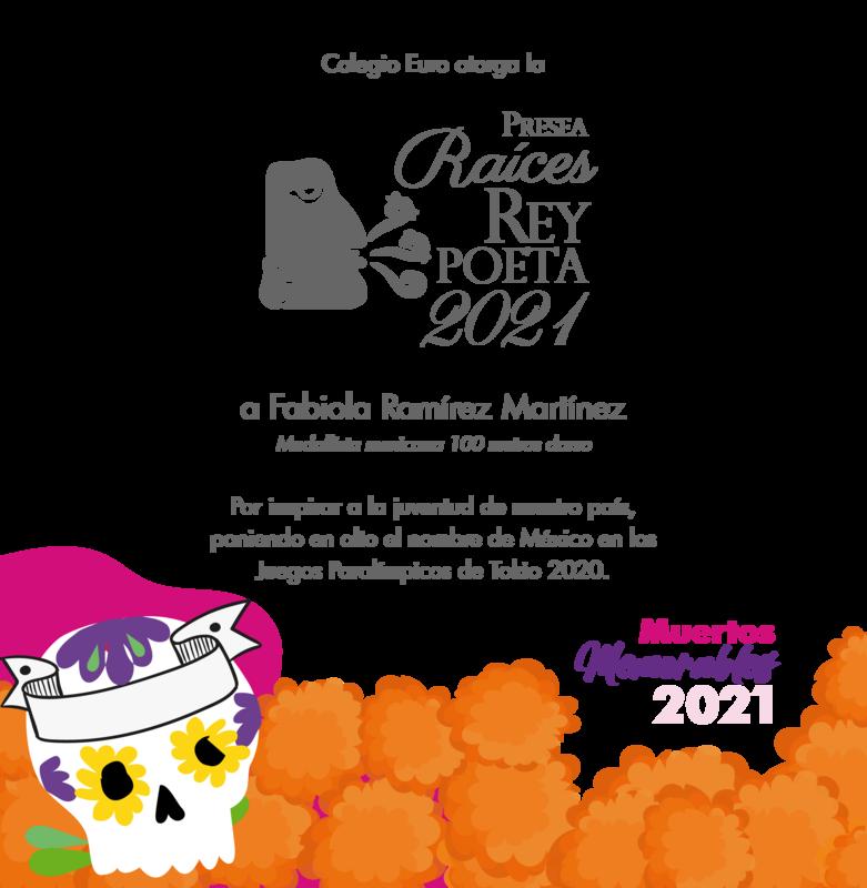 Presea Raíces Rey Poeta 2021 Featured Photo