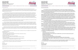 April 3rd, 2020 Superintendent Message