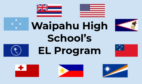 Flags of where EL students are from