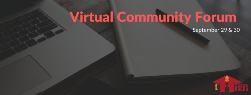 Virtual Community Forum Sept. 29 & 30 Featured Photo
