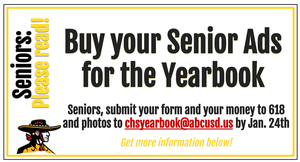 Buy your senior ad now!