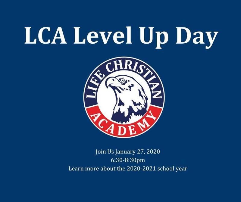 Level Up at LCA! Featured Photo