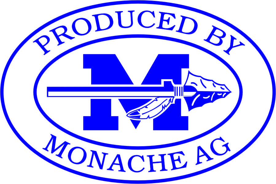 Produced by Monache Ag Logo