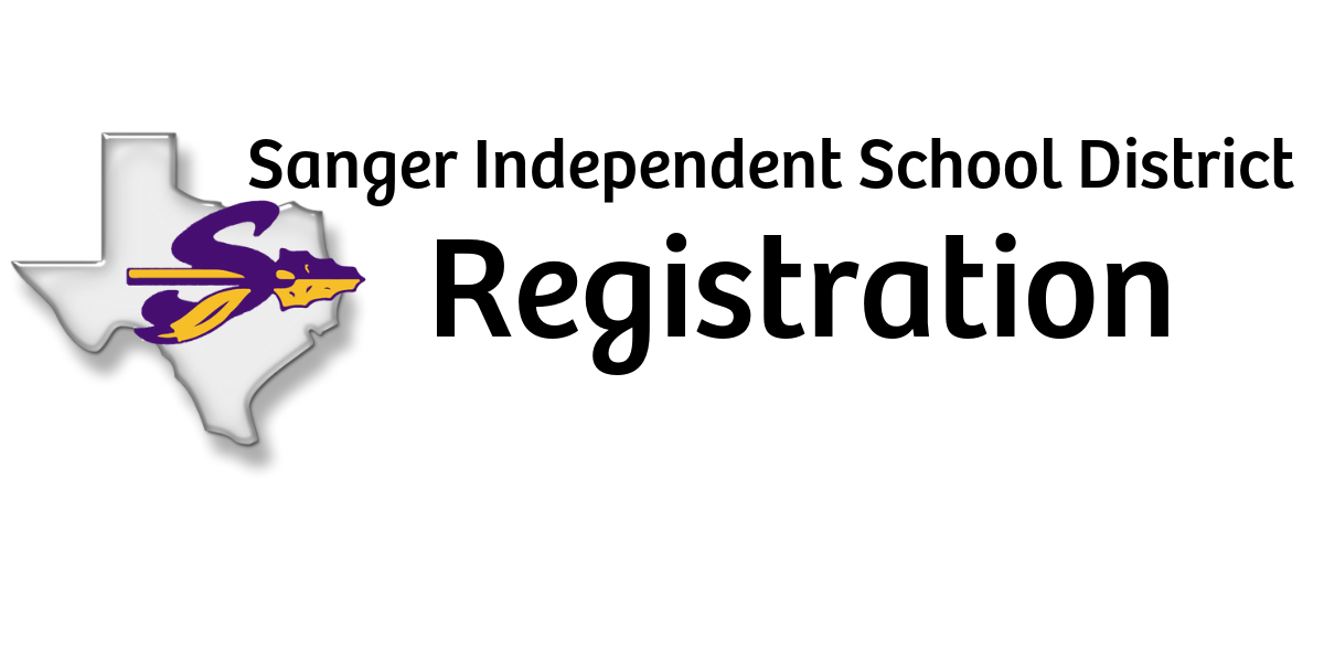 Sanger ISD Registration