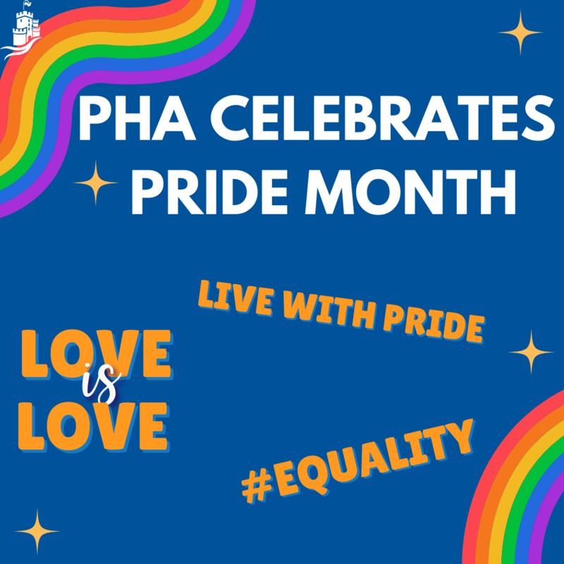 PHA Celebrates Pride Month! Featured Photo