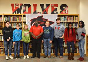 High Sschool Students of the Month
