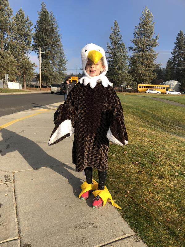 Adyson L, Attendance Eagle Extraordinaire!