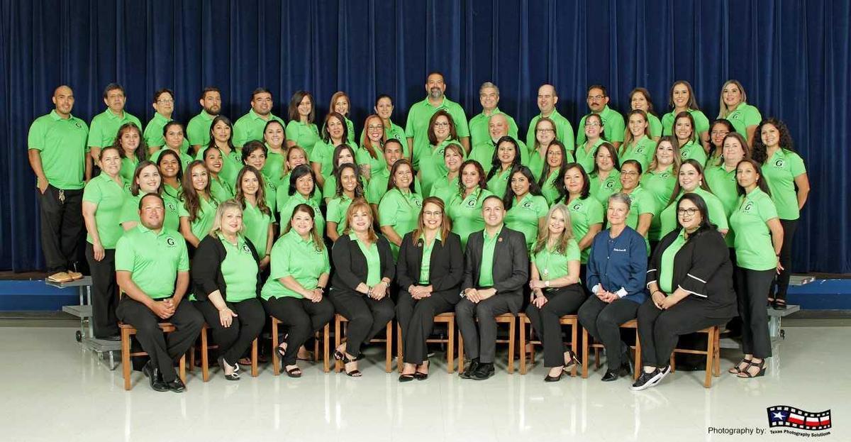 image of E.B. Guerra elementary staff