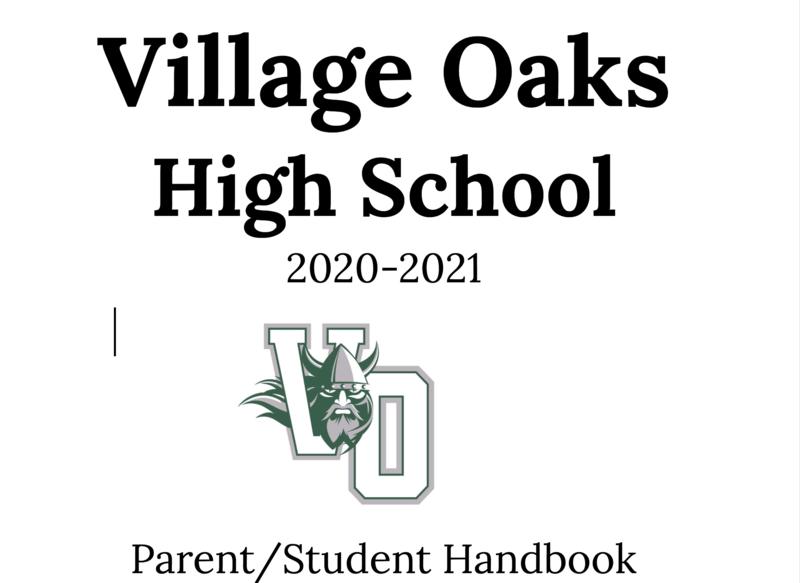 VOHS Parent/Student handbook Featured Photo