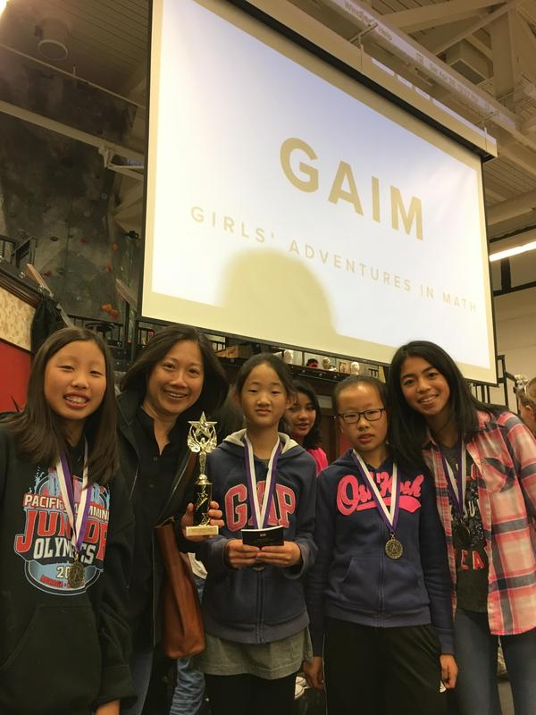 Discovery Team wins 1st place in the Girls' Adventure in Math Competition! Featured Photo