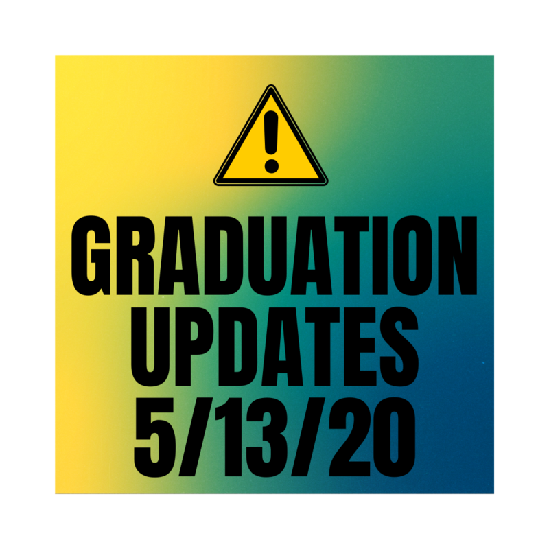 Important Graduation Updates 5/13/20 Featured Photo