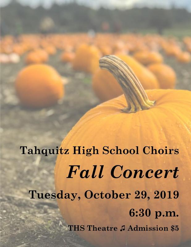 THS Choir Fall Concert