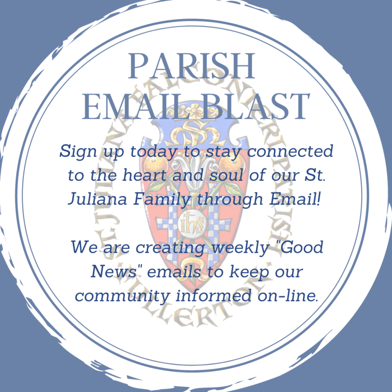 Sign-up for Parish Email Blasts Featured Photo