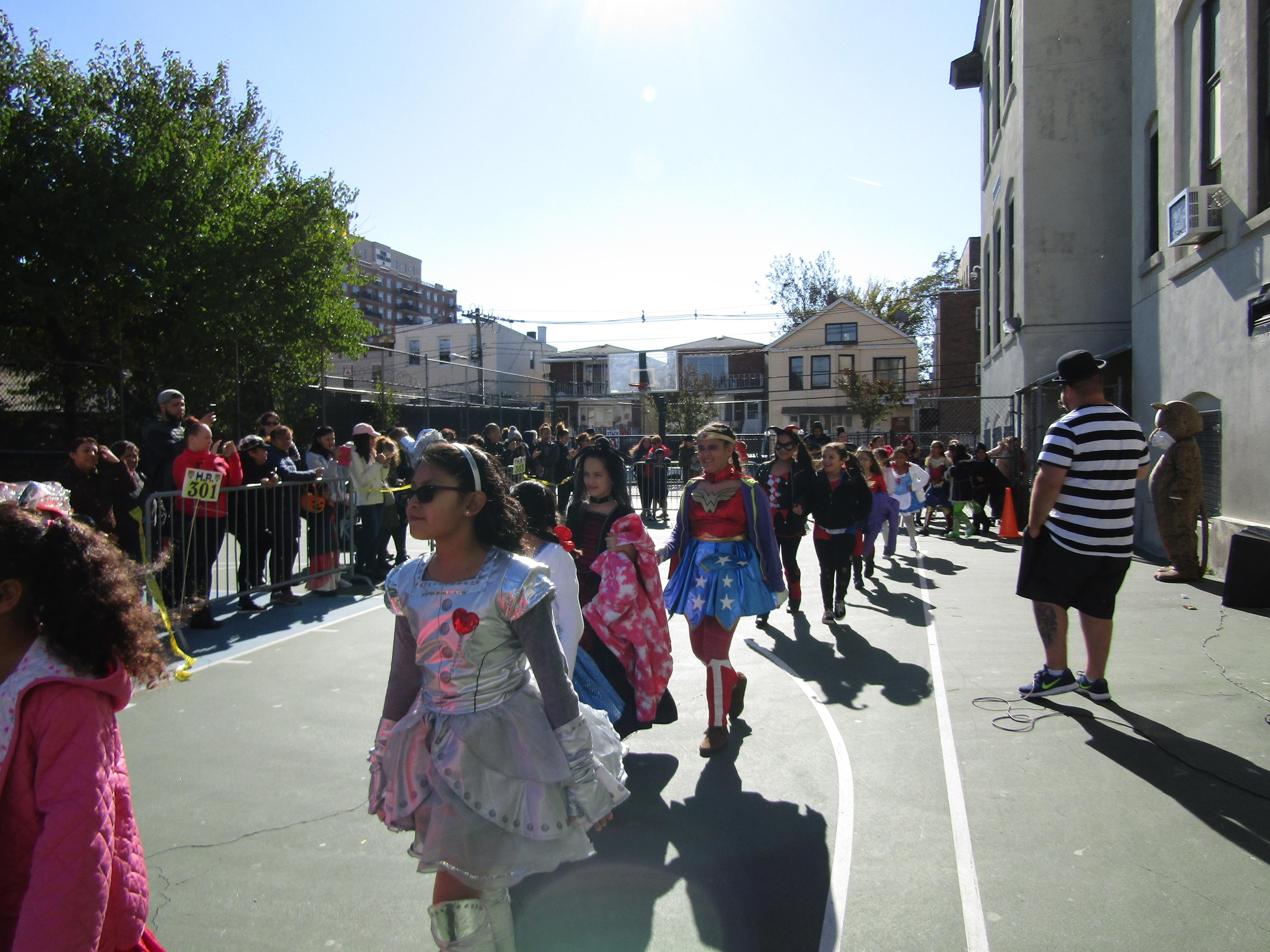 Fourth grade joins the parade