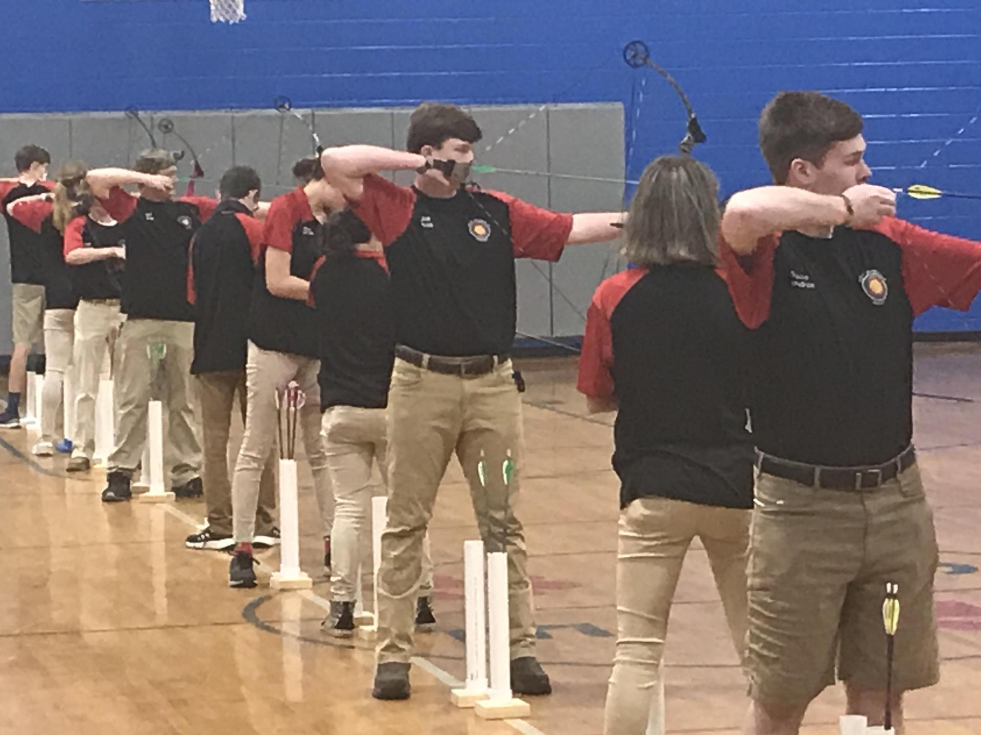 WLHS Archery Athletes