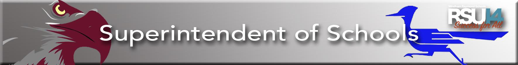 Superintendents Banner