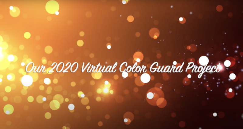 MISD Color Guard Virtual Project Featured Photo