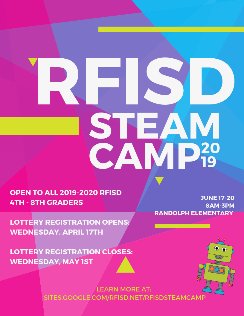 STEAM Camp Poster