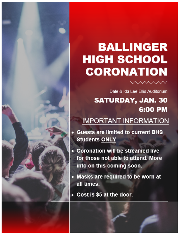 Ballinger High School Coronation