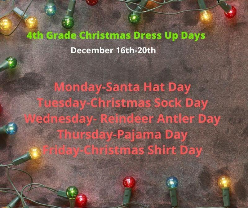 4th grade dress up days
