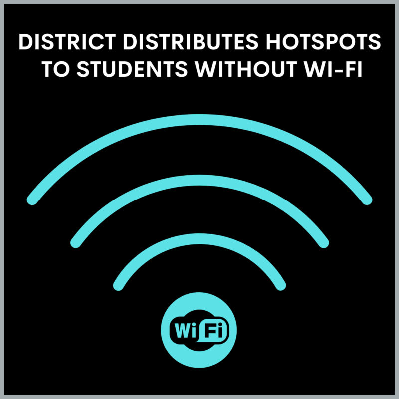 Wifi hotspot for students graphic