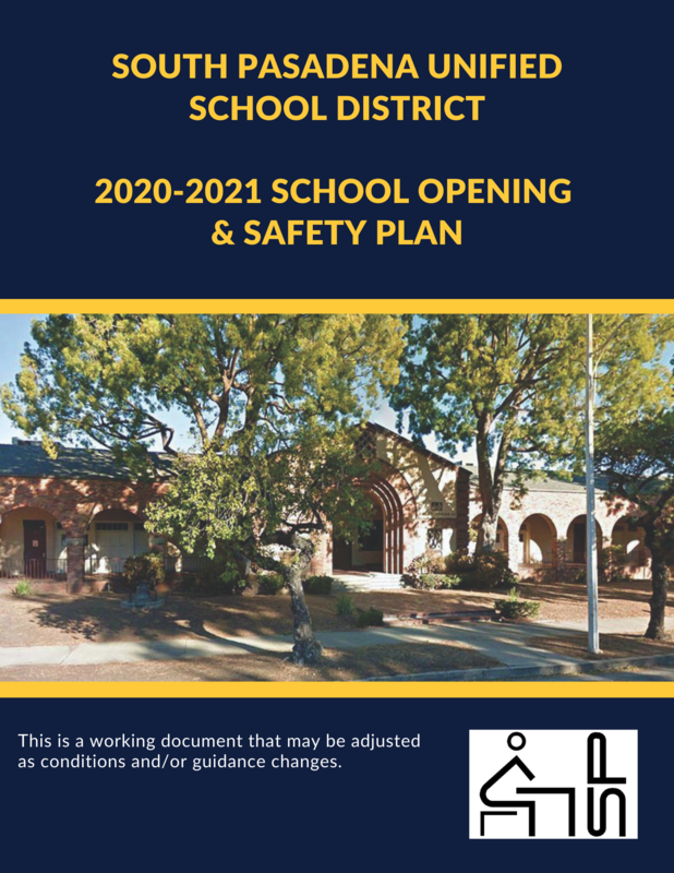 Opening & Safety Plan Cover Page