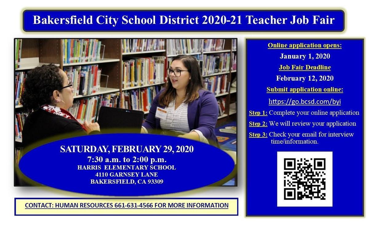 Teacher Job Fair 2020-21