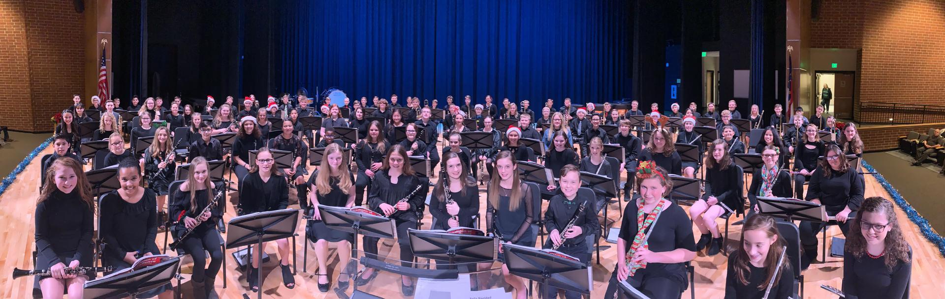 6th Grade Band Winter Concert 2019