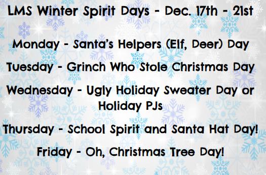 winter spirit days