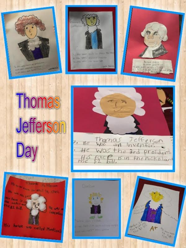 Jefferson Day project collage