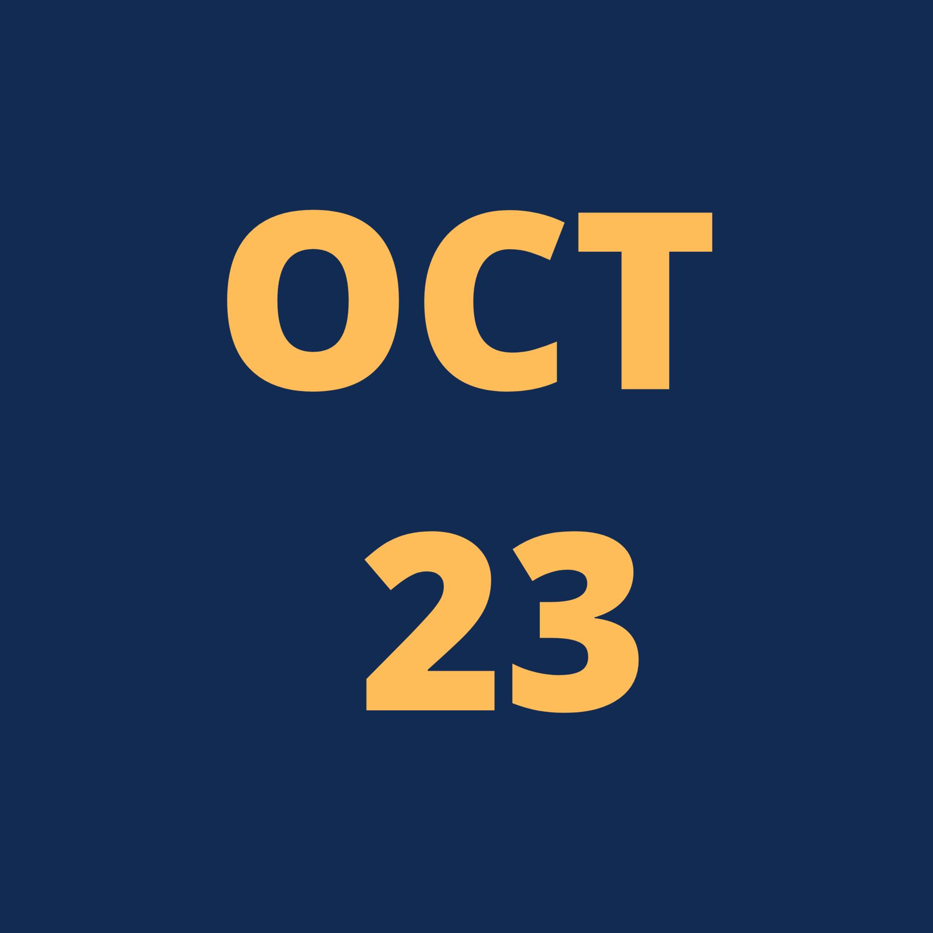 Oct 23 Icon