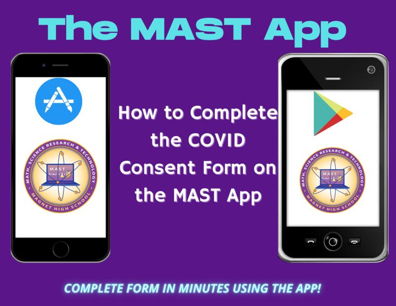 picture of MAST app