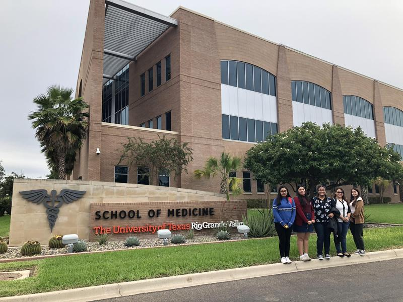 Mission EDC Internship Students Tour Medical School at UTRGV Featured Photo