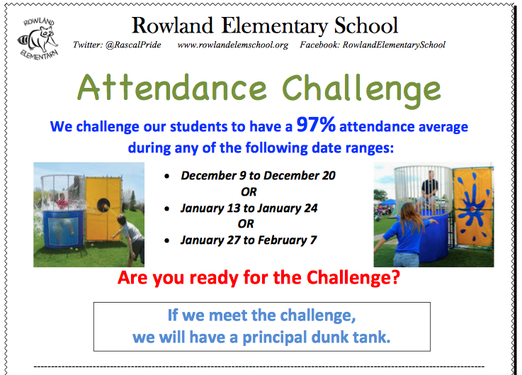 Attendance Challenge - Principal Dunk Tank Featured Photo