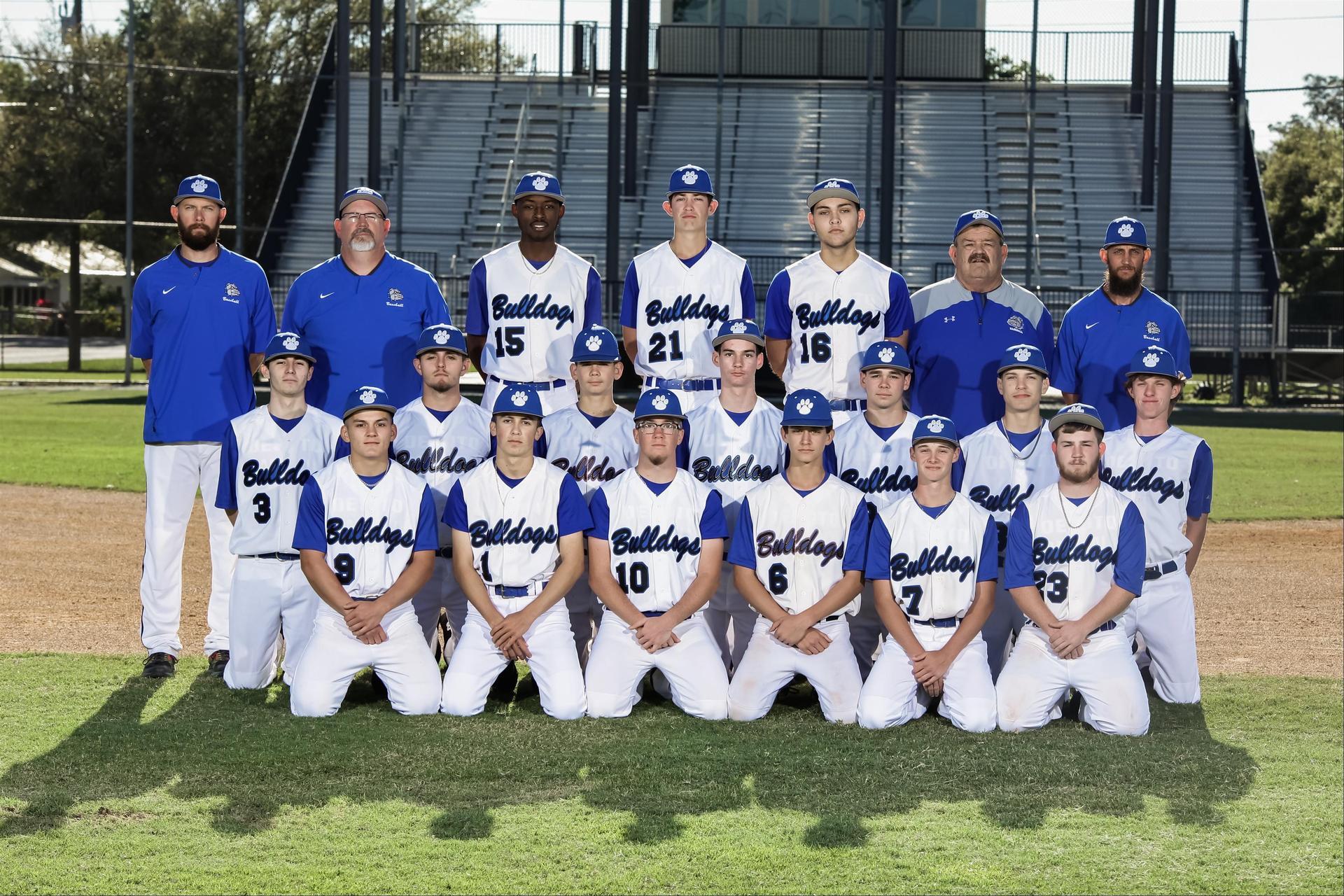 DHS baseball team