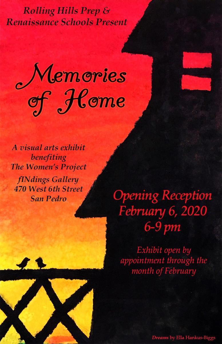 Memories of Home Flyer
