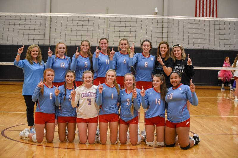 NSHS Volleyball Crowned Conference Champs Featured Photo